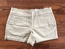 """NWT Ann Taylor LOFT Casual Chino Shorts Size 4 Tan 4"""" Inseam NWT Khaki Short"""