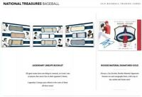 2018 NATIONAL TREASURES BASEBALL LIVE RANDOM PLAYER 1 BOX BREAK #2