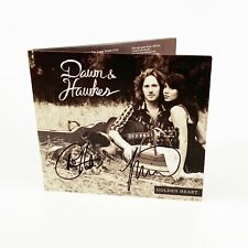 Autographed CD Golden Heart by Miranda Dawn and Chris Hawkes