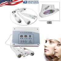 NO Needle Photon Mesotherapy Skin Facial Rejuvenation Machine + face Scrub gift