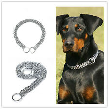 Pet Dog Choke Chain Necklace Choker Collar Strong Training Strap 1Pc