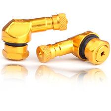 2 x WINKELVENTIL tire valve gold 11,3mm BMW S1000RR HP4