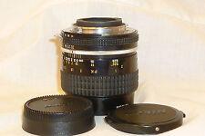 NIKON micro NIKKOR 55mm 1:2.8 AIS lens W/CAPS