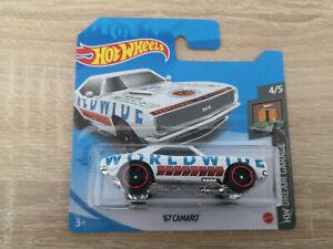 2021 Hot Wheels '67 Chevy Camaro - 1:64 1/64 HW Dream Garage 4/5 White