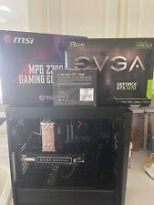 i5 9600k 1070 GTX Gaming PC Computer MSI Mobo Trident RGB 16 GB Ram