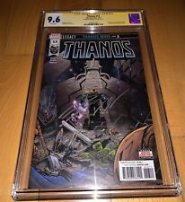 Cgc Ss 9.6 Thanos 13 1st print signed cates 1st Cosmic Ghost Rider Key