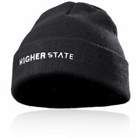Higher State Mens Cold Weather Beanie Grey Sports Running Outdoors Warm