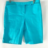 Brooks Brothers Shorts Bermuda Golf Flat Front Pockets Cotton Stretch Size 6