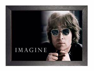 John Lennon Imagine English Singer Peace The Beatles Rock Music Star Glasses