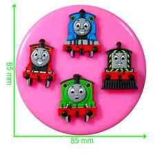 Thomas the Tank Engine & Friends Silicone Mould by Fairie Blessings