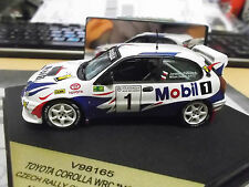 Vitesse 1/43 Toyota Corolla WRC #1 Czech Rally Championship 1998 Mobil1