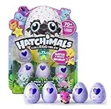 Hatchimals Colleggtibles 4Pk+Bonus Pack Collectable New, Free Shipping