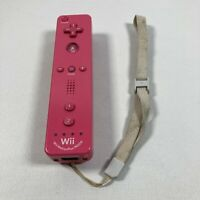 Nintendo Wii Remote With Motion Plus (Model RVL-036) - Pink OEM Tested Working