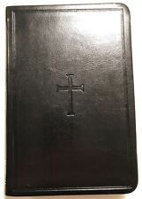 CSB Compact Ultra-thin Bible, black LeatherTouch Imitation Leather (2012) Cross