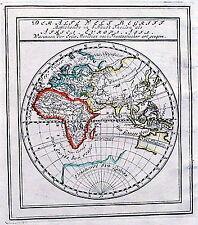 Antique map, Der Alte Welt Begriff .
