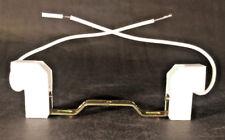 5 1/2 Double Ended HALOGEN SOCKET & BRACKET W/LEADS Electric LAMP PART
