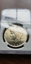 More details for 1922 $1 ms 64 peace silver dollar coin  ngc ms-64 deserve ms-66  stunning look