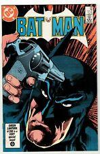 BATMAN #395 (VF+) 1st Appearance of The FILM FREAK! 1986 DC Copper-Age