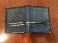 fossil mens wallet used