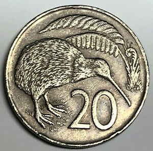 # C6421     NEW ZEALAND   COIN,     20  CENTS   1974