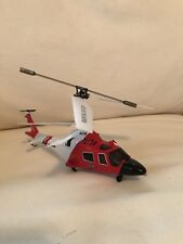 SYMA S111G Red Coast Guard Helicopter GYRO RC Remote Control For PARTS ONLY