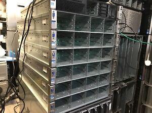 HP Proliant DL380e 12 BAY LFF 2U e5-2430 12Gb ram dual PSU p420 1gb bbu