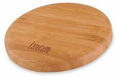 Woodpuck Bamboo Edition Qi Wireless Charger Pad Compatible With Samsung Galaxy