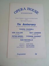 Vintage Opera House Scarborough Programme+Retro Adverts (Anniversary Comedy)  §1
