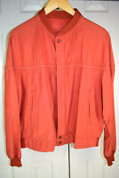 Vtg 50s Knit Collar Bomber Windbreaker Ricky Jacket w/ Sheen Talon Zip Sz M USA