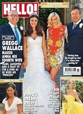 HELLO! Magazine #1444 - GREGG WALLACE/ROD AND LADY STEWART (NEW BACK COPY)