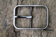 "Metal Belt Buckle Replacement TO FIT 38mm 1 1/2"" BELT / STRAP Center Bar  BE"