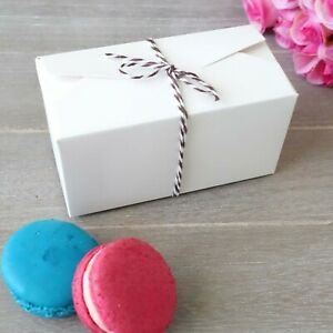 10-60x Cookies/Macaron/Cake Gift Boxes Wedding Favour Baby Shower Gift Box