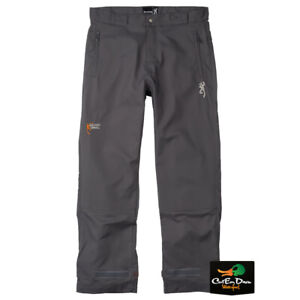 NEW BROWNING WICKED WING WADER PANTS CHARCOAL GRAY