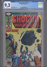 Shogun Warriors #12 CGC 9.2 1980 Marvel Comics 8 Years Before Transformers!