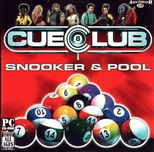 CUE CLUB  a comprehensive and highly playable pool and snooker simulation  NEW