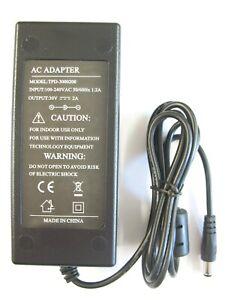 2 amp 30 volt AC-DC Regulated Desktop Power Adaptor/Supply/Charger (60 watt)