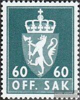 Norwegen D78x gestempelt 1969 Dienstmarken