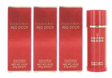 Red Door Women by Elizabeth Arden Cream Deodorant 1.5 oz New in Box - Pack of 3