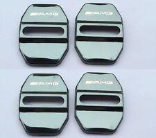 4PCS Benz A B C E S Classe GLA CLA AMG Logo Capot protection Acier surfin