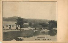 A View Of The Boat Landing, Gates Mills, Ohio OH 1909