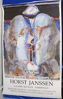 Horst Janssen,Plakat,  1992, Galerie Uwe Michael, Darmstadt