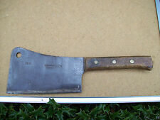 vintage f. dick # 100 germany 8x65 schiff meat cleaver