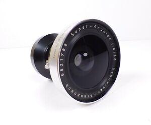 Schneider-Kreuznach 90mm f/8 Super-Angulon with Synchro- Compur Shutter