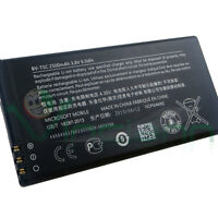 Batteria originale Microsoft BV-T5C 2500mAh Bulk per Lumia 640 640 Dual Sim
