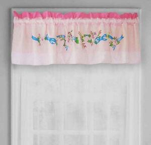 DISNEY CINDERELLA AURORA & BELLE WINDOW VALANCE : GIRLS FLOWERS GARDEN BEAUTY