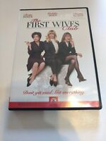 The First Wives Club 1998, Widescreen Goldie Hawn Diane Keaton Bette Midler '96
