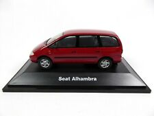 Seat Alhambra I Burgundy Red 1:43 - Herpa Diecast Dealer Model Car SE18