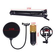 Pro BM800 Condenser Microphone Kit Studio Suspension Boom Scissor Arm Sound Card