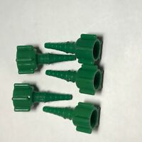 NEW WESTERN ENTERPRISES  OXYGEN CONCENTRATOR ADAPTERS DISS TO BARB. [ QTY 5 ]