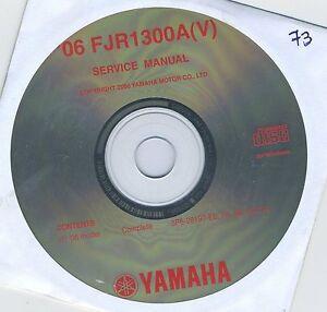 (CD73) CD MANUEL ATELIER MOTO YAMAHA FJR1300A(V)   2006